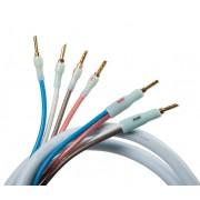 Supra Quadrax Combicon Bi-wire 3 meter Isblå