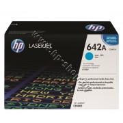 Тонер HP 642A за CP4005, Cyan (7.5K), p/n CB401A - Оригинален HP консуматив - тонер касета
