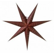 Watt Isadora Burgundy 80cm Julstjärna