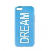 Capa em Silicone da Puro para iPhone 5C - Dream - Azul