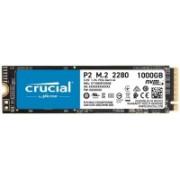 Crucial MX500 3D NAND SATA M.2 1 TB Laptop, Desktop Internal Solid State Drive (P2 NVMe CT1000P2SSD8)