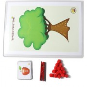 Boredom Busters Busy Bags Educational DIY toys for kids Counting Apples for Age 2.5 years above