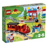 LEGO DUPLO, Tren cu aburi 10874
