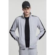 2-Tone Interlock Track Jacket grey/black XXL