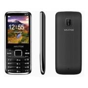 Maxton M55 mobiltelefon, dual sim-es kártyafüggetlen, bluetooth-os, fm rádiós fekete-kék