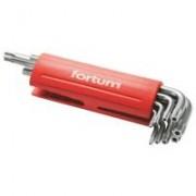 Fortum 9 db-os lyukas torx kulcskészlet, T10-50 (4710200)