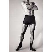 Knittex - Slät strumpbyxa med sockor för män Smart nero M