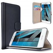 Huawei Honor 6A Saii Classic Wallet Case - Black