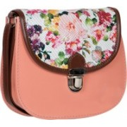 Desi Drama Queen Lock Sling- Peach School Bag(Multicolor, 5 inch)