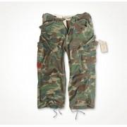 Spodnie 3/4 Surplus Engineer Woodland