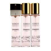 Coco Mademoiselle Twist & Spray Eau De Parfum Refill 3x20ml/0.7oz Coco Mademoiselle Twist & Spray Парфțм Пълнител