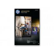 HP Papel fotográfico satinado avanzado HP 250 gramos/m² - 60 hojas /10 x 15 cm sin bordes (Q8008A)
