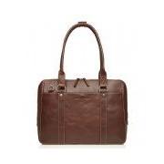 Castelijn & Beerens-Laptoptassen-Laptop Ladies Bag 15.6 Inch-Bruin