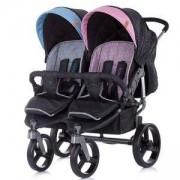 Бебешка количка за близнаци Chipolino Туикс, момче/момиче, 3500557