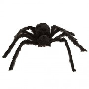 WINOMO Black Spider Halloween Decoration Haunted House Prop Plush Scary 12""