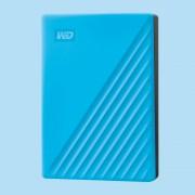 "HDD EXTERNAL 2.5"", 4000GB, WD MyPassport, USB 3.2 (Gen 1), Sky Blue (WDBPKJ0040BBL)"
