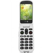 Doro 6050 GSM-mobiele telefoon (3 megapixel-camera, noodoproepknop, e-mail), 1, champagne/wit.