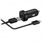 Samsung EP-LN930C USB-C Fast Car Charger Mini - Bulk - Black