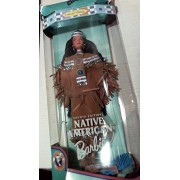 Barbie 1997 Collector Edition Dolls of the World 12 Inch Doll - Fourth Edition Native American Barbi