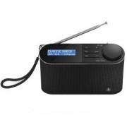 Цифрово радио Hama DR15, FM/DAB/DAB+/работа с батерии, черен, HAMA-54866