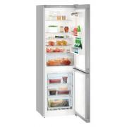 Combina frigorifica Liebherr Cnef 4313, 304 L, No Frost, Display, Control taste, Raft sticle, Alarma usa, H 186.1 cm, A++, Inox, finisaj Antiamprenta