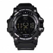 EX16 Sport Smart Wristband Watch para dispositivos Android y IOS - Negro