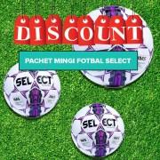 Pachet Mingi fotbal Select DIAMOND