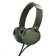 Sony XB550AP EXTRA BASS Headphones With Mic ( Green ) With 1 Year Sony India Warranty