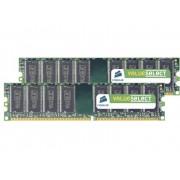 Corsair ValueSelect VS4GBKIT667D2 4 GB DDR2-RAM PC-werkgeheugen kit 667 MHz 2 x 2 GB