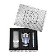 Invictus - Paco Rabanne gift set profumo 100 ml EDT SPRAY + deodorante spray 150 ml + 10 ml EDT