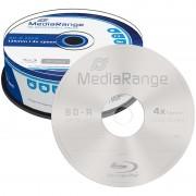 MediaRange Blu-ray-Rohling BD-R 25GB 4x, 25er-Spindel