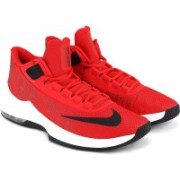 Nike AIR MAX INFURIATE 2 MID Basketball Shoes For Men(Red)