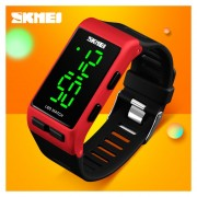 Reloj Impermeable De Moda Al Aire Libre-Rojo