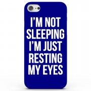 Own Brand I'm Not Sleeping I'm Just Resting My Eyes Phone Case for iPhone & Android - 4 Colours - iPhone 7 - Blue