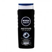 Nivea Men Active Clean sprchový gel na tělo, tvář a vlasy pro muže