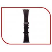 Аксессуар Ремешок APPLE Watch 42mm Activ Black Smooth Leather 79563