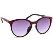 Stacle Cat-eye Sunglasses(Violet)