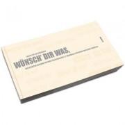 Post aus Düsseldorf Gutscheinbuch zum Selbst Ausfüllen - Wünsch dir was, Blanko