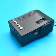 beiping Proyector HD 1080P Mini Tarjeta De Soporte Portátil TF Durable para Cine En Casa Teatro