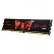 Memória RAM G.SKILL Aegis 8GB (1x8GB) DDR4-3000MHz CL16 Preta