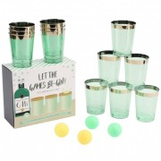 Let The Games Be-Gin! Gin Pong Drinking Game