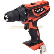 Yato Akkus fúró-csavarbehajtó akku és töltő nélkül(YT-82781)