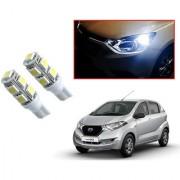 Auto Addict Car T10 9 SMD Headlight LED Bulb for Headlights Parking Light Number Plate Light Indicator Light For Datsun Redi Go