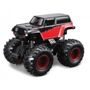 Maisto - Earth Shockers Black Jeep Monster Truck