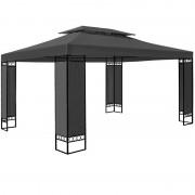 Pawilon 3x4 Namiot Ogrodowy Stelaż Metal Antracyt
