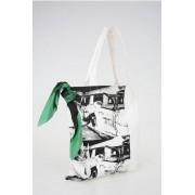 Calvin Klein 205W39NYC ANDY WARHOL Shopping Bag MUSEUM in Canvas Stampato taglia Un