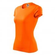 Дамска тениска Fantasy оранжево неон