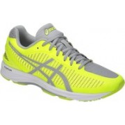 Asics GEL-DS TRAINER 23 Running Shoes For Men(Yellow, Grey)