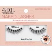 Ardell Naked Lashes 424 1 ks umělé řasy pro přirozený vzhled pro ženy Black