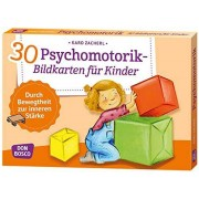 Karo Zacherl - 30 Psychomotorik-Bildkarten für Kinder: Durch Bewegtheit zur inneren Stärke (Körperarbeit und innere Balance) - Preis vom 18.10.2020 04:52:00 h